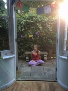 Emma, green door yoga teacher