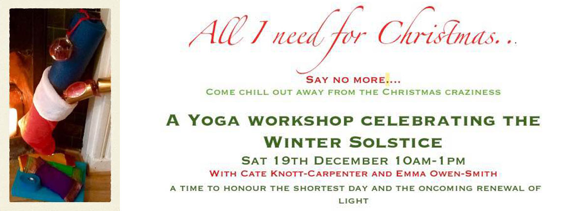 Chill out Christmas flyer