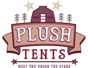 Plush Tents Glamping logo