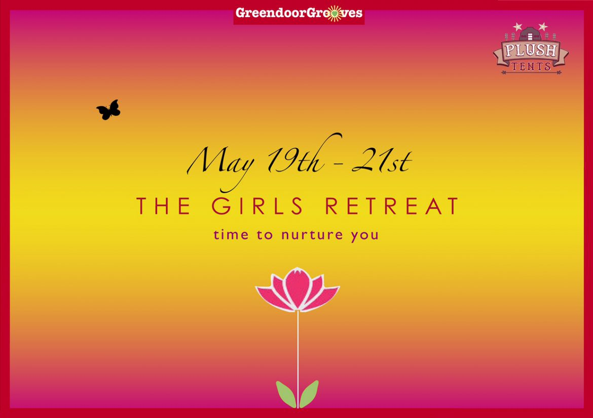 Flyer for The Girls Retreat event - page 1